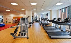 The fitness center and/or fitness facilities at Sheraton Grand Chicago