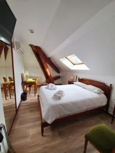 Un ou plusieurs lits dans un hébergement de l'établissement Albert 1er