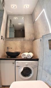 A kitchen or kitchenette at Planet Hostel