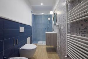 A bathroom at Relais Santa Caterina