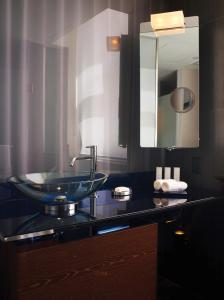 A bathroom at The Joule