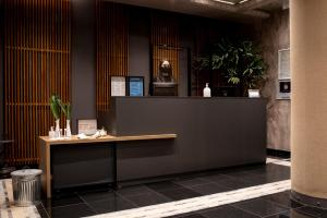 The lobby or reception area at Le B Club Boutique & Terrasse