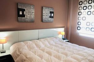 A bed or beds in a room at MONTANEJOS - NATURALEZA Y RELAX