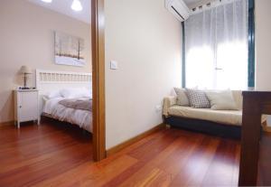 Zona de estar de Apartamentos y Estudios Rurales La Vera