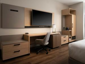 A television and/or entertainment center at Hyatt Place Amarillo-West
