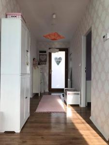 Kuchyň nebo kuchyňský kout v ubytování Apartmán Provence