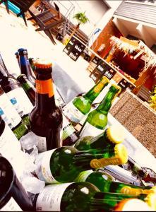 Drinks at HafenTraum IndoorCampingHostel