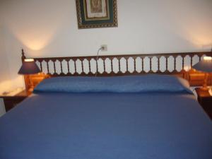 Cama o camas de una habitación en Posada El Teju