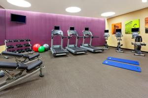 The fitness center and/or fitness facilities at Fairfield Inn & Suites by Marriott New York Midtown Manhattan/Penn Station