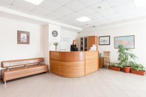 Лобби или стойка регистрации в Гостиница Дубки