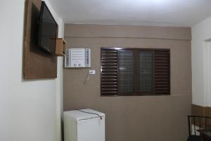 A kitchen or kitchenette at Hotel Galli