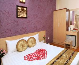 Ein Bett oder Betten in einem Zimmer der Unterkunft Hanoi Culture Hostel