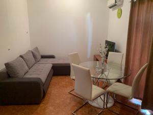 Posezení v ubytování Apartment Lena