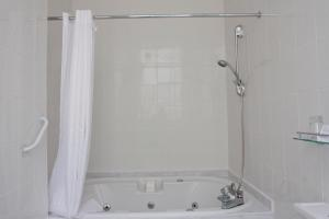 A bathroom at St James Hotel; BW Premier Collection