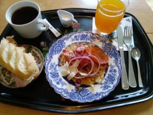 Frukostalternativ för gäster på B&B Lilla Lotten