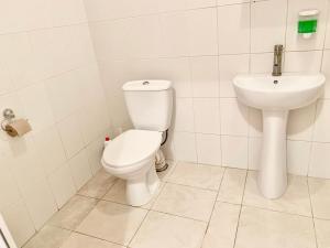 Ванна кімната в Мини-гостиница Три Коня