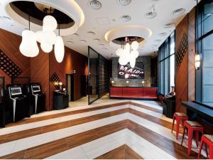 The lobby or reception area at Daiwa Royal Hotel D-PREMIUM Osaka Shin Umeda