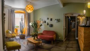 Coin salon dans l'établissement Hôtel du Palais Bastia Centre