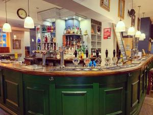 The lounge or bar area at The Royal Oak Ripon