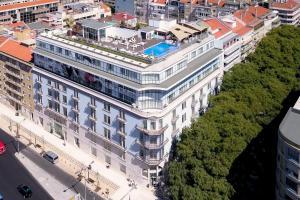 A bird's-eye view of Jupiter Lisboa Hotel