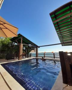 The swimming pool at or near Alfa Beach (Adults only)