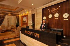 منطقة الاستقبال أو اللوبي في Golden Inn Hotel