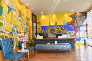 The lobby or reception area at Siri Oriental Bangkok Hotel