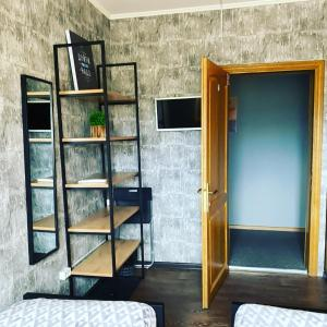 A bunk bed or bunk beds in a room at Enisey Hostel