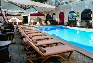The swimming pool at or near Hotel Otrada