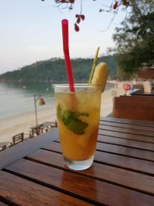 Drinks at Salad Hut