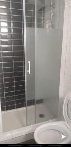 A bathroom at LA nuit étoilée