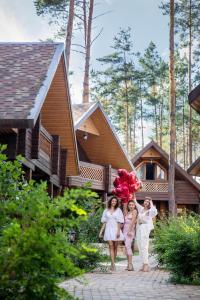 A family staying at Park-Hotel Villa Vita