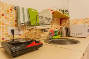 Кухня или мини-кухня в Шале Де Прованс
