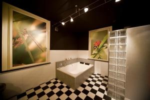 Ванная комната в Raadhuis Dinther Suites