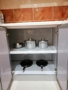 A cozinha ou cozinha compacta de شقق منازل نور ببني عمرو شمال النماص