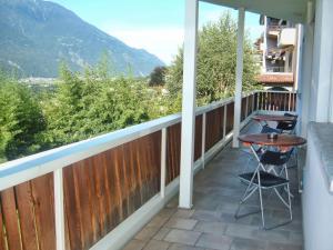 A balcony or terrace at Bed & Breakfast Valtellina