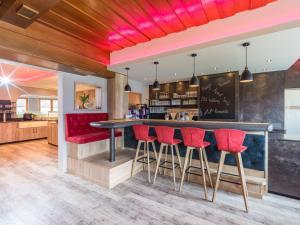 Lounge oder Bar in der Unterkunft Hotel Hubertus