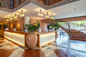 The lobby or reception area at Grande Real Santa Eulalia Resort & Hotel Spa