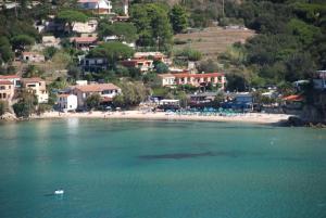 A bird's-eye view of Hotel Danila