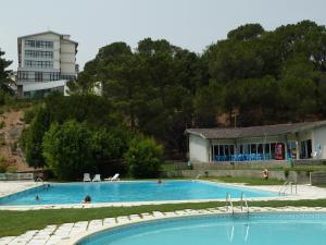 A piscina em ou perto de Hotel Senhora do Castelo