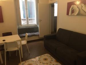 A seating area at Il Vicolo Della Neve B&B