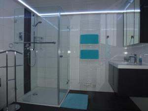 Ein Badezimmer in der Unterkunft Ferienwohnung Schwarzwaldsteig