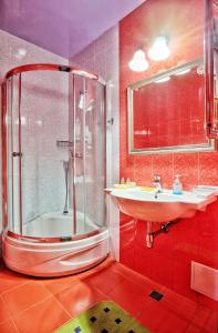 Ванная комната в Отель Rosa Del Viento