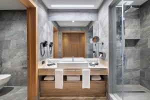 حمام في Hotel Riu Palace Tikida Taghazout - All Inclusive