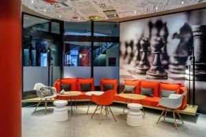 Lounge oder Bar in der Unterkunft ibis Luzern Kriens