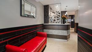 The lobby or reception area at Best Western Plus Hospitality House Suites