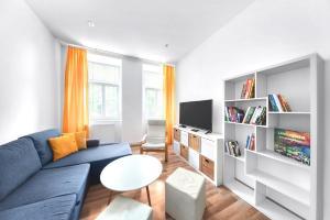 Posedenie v ubytovaní PB Apartments