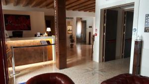 Ванная комната в UNAWAY Ecohotel Villa Costanza Venezia