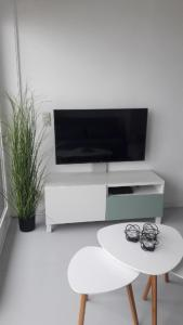 A television and/or entertainment center at Malibu Beach 9C