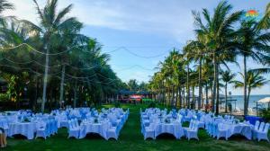 Tiện nghi tổ chức tiệc tại resort